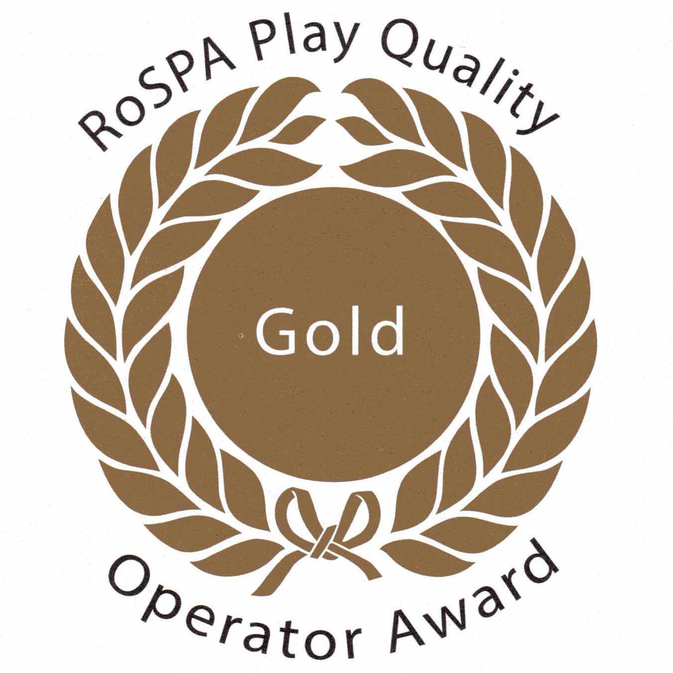 ROSPA Gold Award to Tots Town Role Play in Norwich