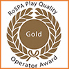 RoSPA Gold Standard play operator.