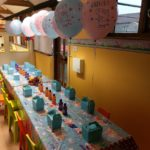 Birthday Table arrangement for 20 children