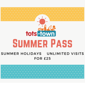Tots Town Summer unlimited play