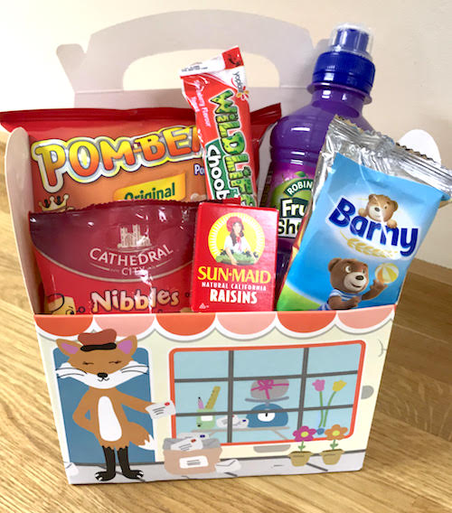 Tots Town childrens snack box