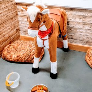 Popcorn the horse